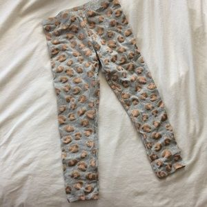 ❗️ Faded Glory Girls Glitter Leopard Leggings